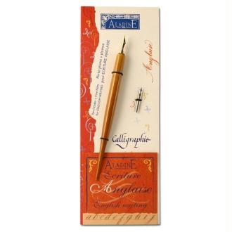 Porte-plumes et plumes fines pour écriture Anglaise