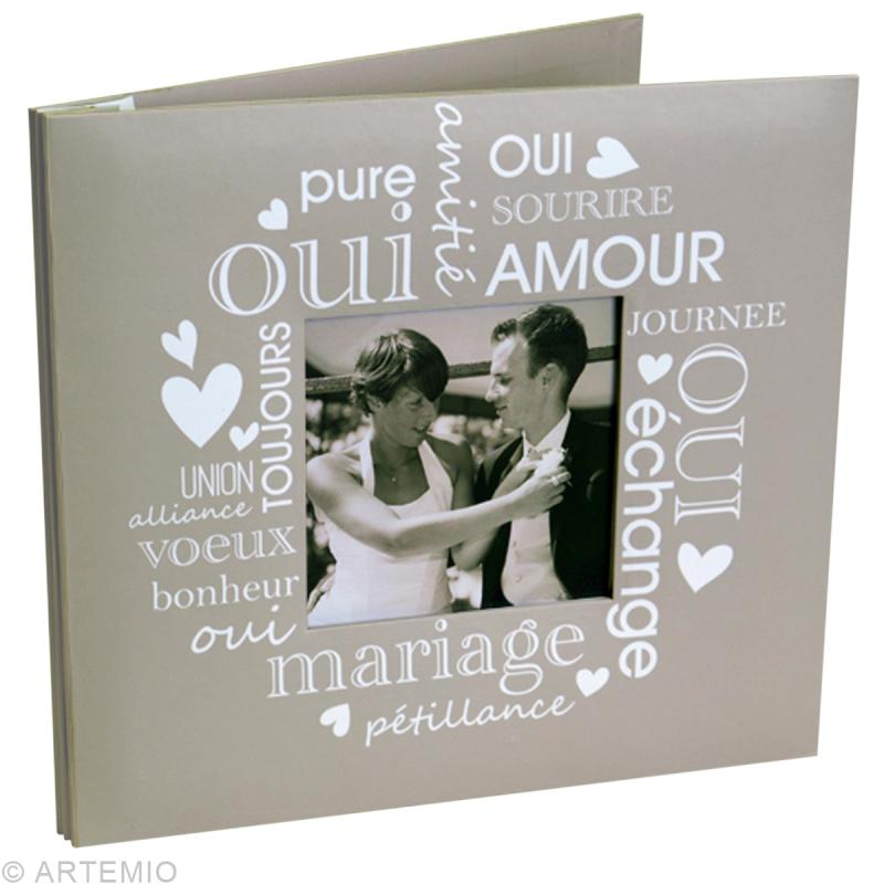 kit album scrapbooking mariage kit avec album creavea. Black Bedroom Furniture Sets. Home Design Ideas