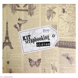 Kit album scrapbooking Oldies