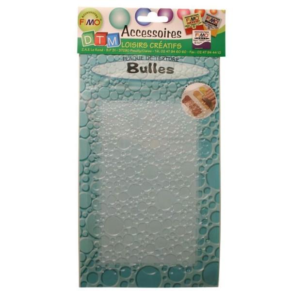 Plaque de texture Bulles 20,5 x 13,5 cm - Photo n°1