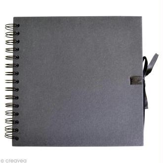Carnet scrapbook Artemio 30 x 30 cm - Noir - 40 feuilles