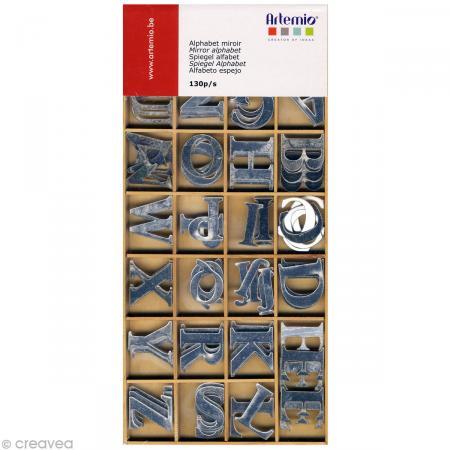 Alphabet miroir mini x 130 - Photo n°1