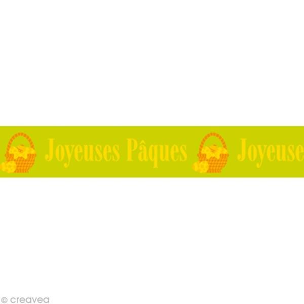 Masking tape - Joyeuses Pâques - Photo n°1