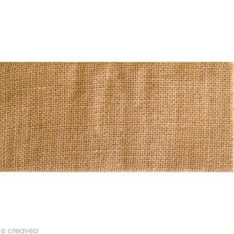 Coupon de tissu en Toile de jute - A4