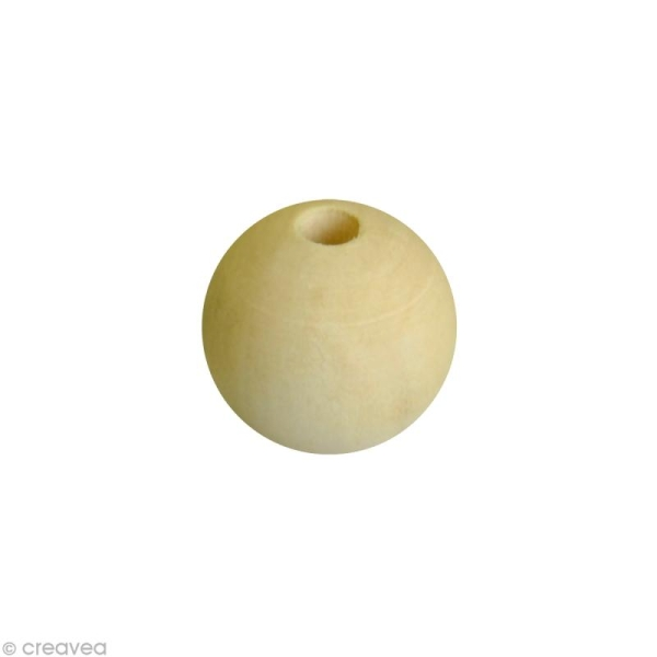 Perle en bois 12 mm x 80 - Photo n°1