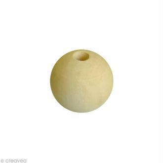 Perle en bois 12 mm x 80
