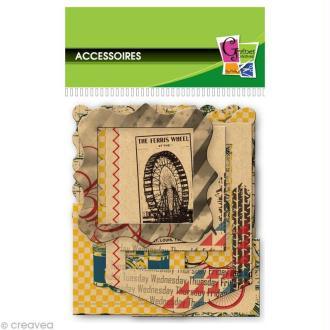 Cadre en carton  James - 8,5 x 5,5 cm - 12 pcs