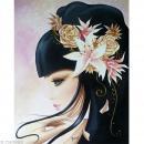 Image 3D Femme - Lilou songe 24 x 30 cm