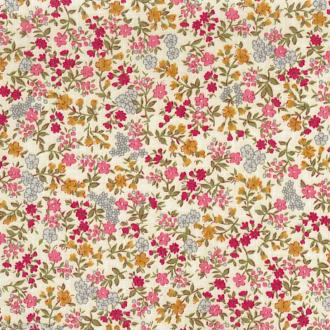 Dailylike Mille fleurs - Tissu thermocollant A5