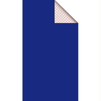 Feutrine adhésive polyester 1 mm 25 x 45 cm - Bleu électrique