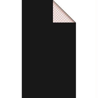 Feutrine adhésive polyester 1 mm 25 x 45 cm - Noir