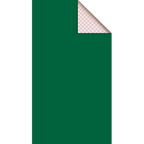 Feutrine adhésive polyester 1 mm 25 x 45 cm - Vert - Photo n°1