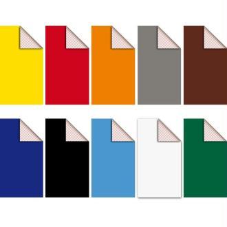 Assortiment Feutrine adhésive polyester 1,3 mm 25 x 45 cm - 10 coupons