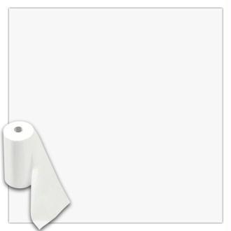 Rouleau feutrine polyester 1 mm 45 cm x 10 m - Blanc