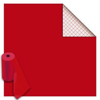Rouleau feutrine autocollante polyester 1 mm 45 cm x 5 m - Rouge