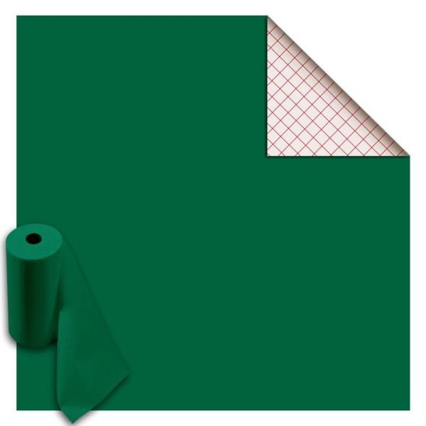 Rouleau feutrine autocollante polyester 1 mm 45 cm x 5 m - Vert - Photo n°1