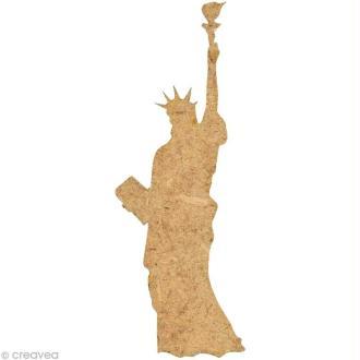 Forme en bois New York - Statue de la liberté - 5 cm