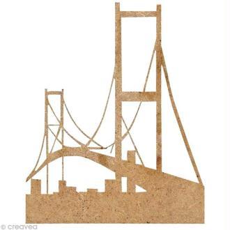 Forme en bois New York - Pont - 5 cm