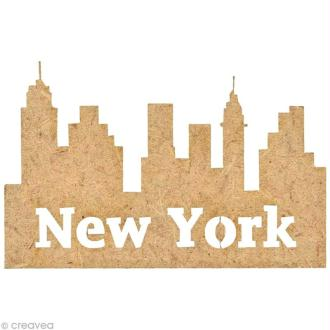 Forme en bois New York - New York City - 5 cm