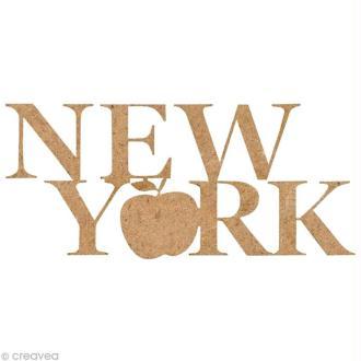 Forme en bois New York - Big Apple - 5,5 cm
