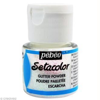 Poudre pailletée Setacolor - Diamant - 10 gr