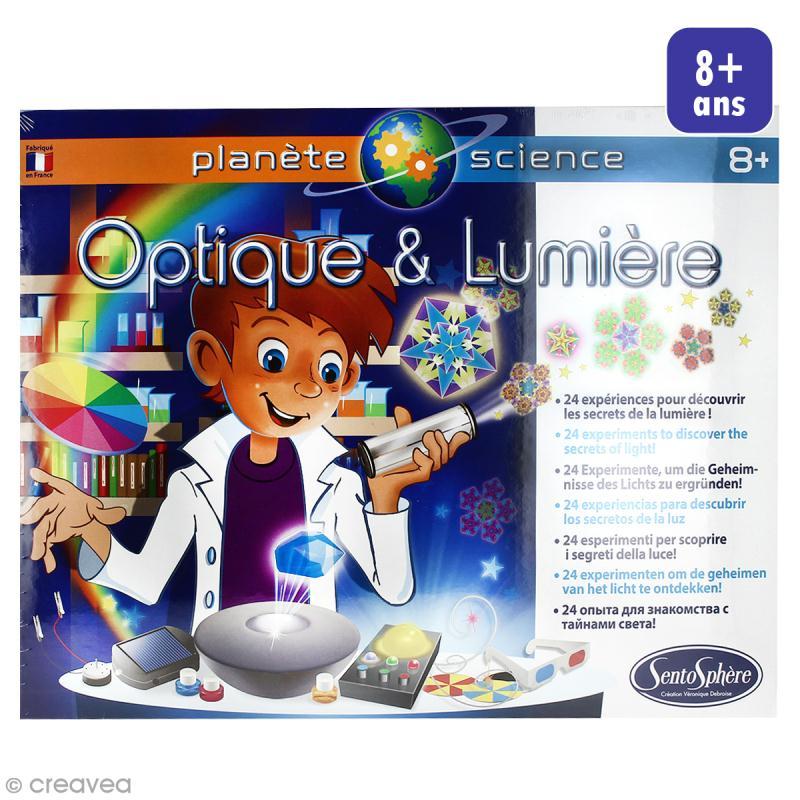 Jeu éducatif - Optique & lumière - Jeux créatifs de 6 à 10 ans - Creavea