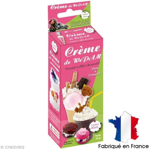 Fausse Chantilly WePAM - Blanche - 30 g - Photo n°1