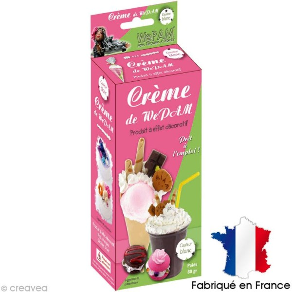 Fausse Chantilly WePAM - Blanche - 80 g - Photo n°1