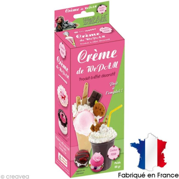 Fausse Chantilly WePAM - Rose dragée - 80 g - Photo n°1