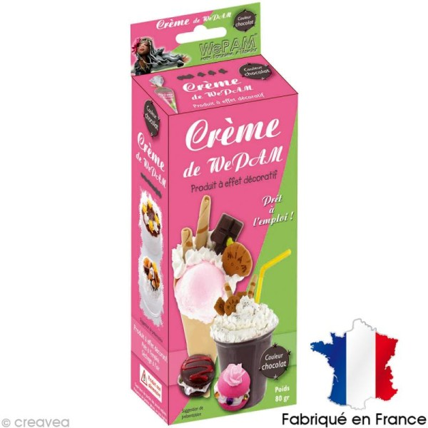 Fausse Chantilly WePAM - Chocolat - 80 g - Photo n°1