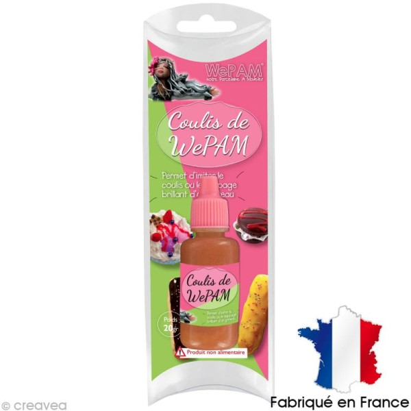 Faux coulis WePAM - Effet Caramel - 20 ml - Photo n°1