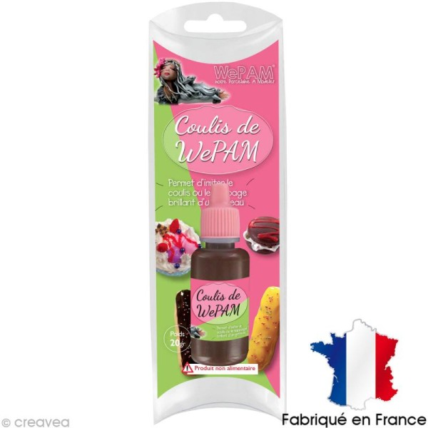 Faux coulis WePAM - Effet Chocolat - 20 ml - Photo n°1