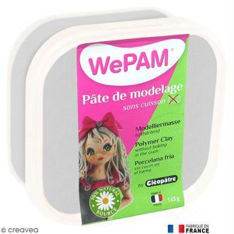Porcelaine froide à modeler WePAM Argent 145 gr