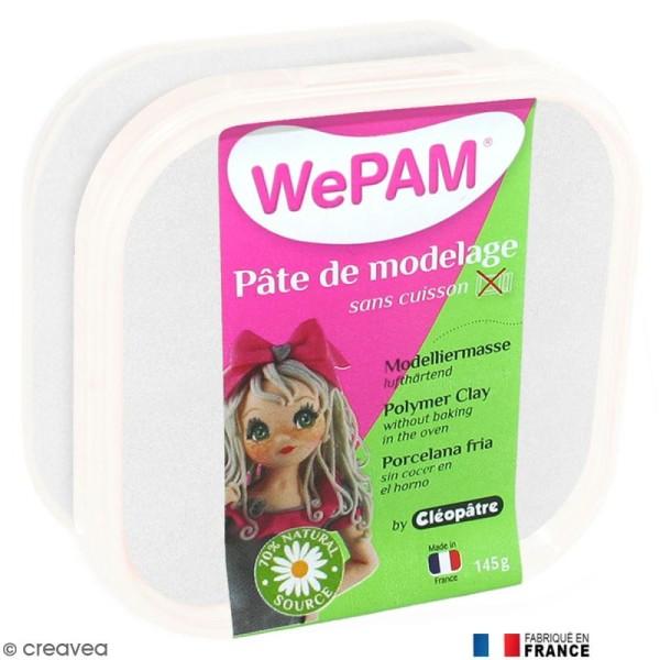 Porcelaine froide à modeler WePAM Blanc Nacré 145 gr - Photo n°1