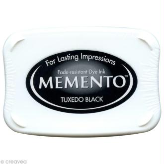 Encreur Memento rectangle - Tuxedo black (noir)