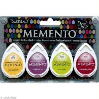 Encreur Memento goutte - Assortiment Farmer's market