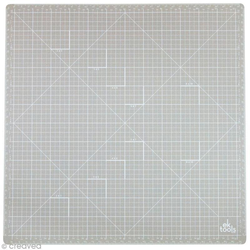 tapis de d 233 coupe auto cicatrisant ek tools 33 x 33 cm tapis scrapbooking creavea