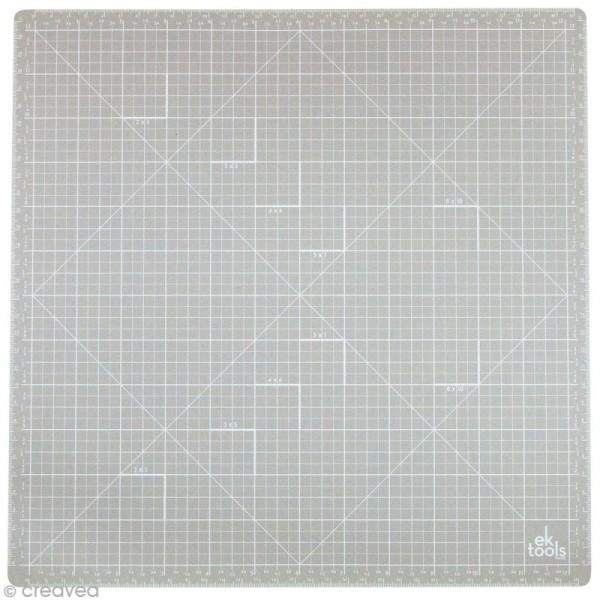 Tapis de découpe auto-cicatrisant EK Tools - 33 x 33 cm - Photo n°1