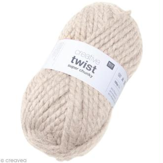 Laine Rico Design - Creative super twist chunky - Nature - 100 gr