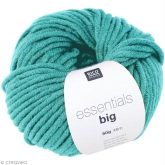 Laine Rico Design - Essentials big - Bleu turquoise - 50 gr