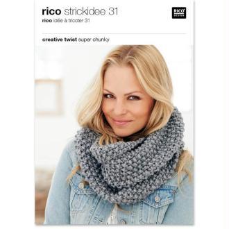 Livre Idées à tricoter n°31 - Creative twist super chunky