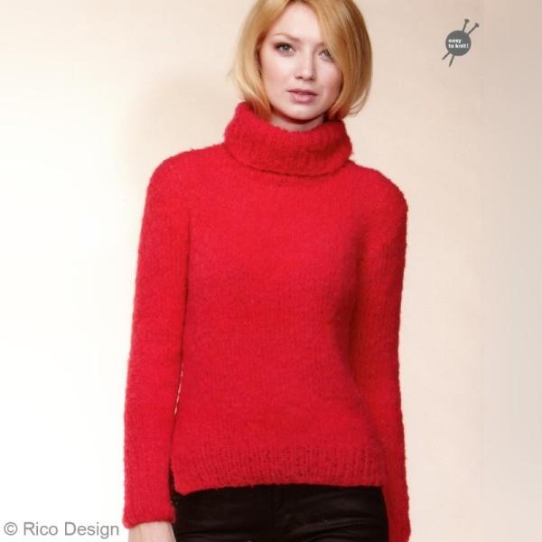 Livre Idées à tricoter n°39 - Fashion gigantic mohair - Photo n°2