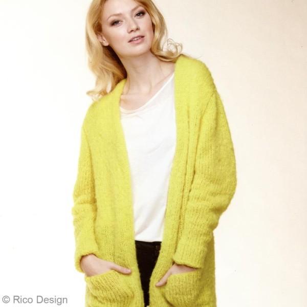 Livre Idées à tricoter n°39 - Fashion gigantic mohair - Photo n°3