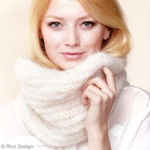 Livre Idées à tricoter n°39 - Fashion gigantic mohair - Photo n°4