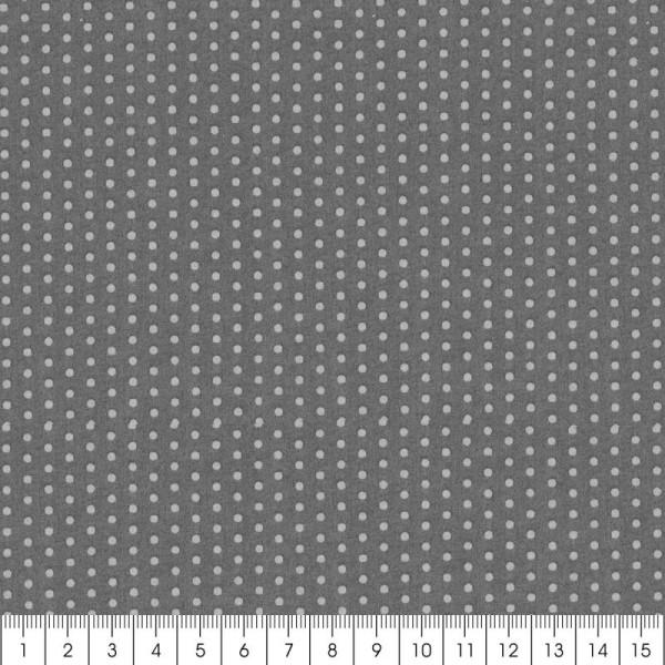 Tissu Frou Frou Ciel d'orage - Pois (202) - A la coupe par 10 cm (sur mesure) - Photo n°3