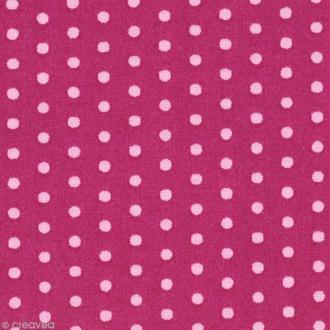 Tissu Frou Frou Camélia - Pois (207) - A la coupe par 10 cm (sur mesure)