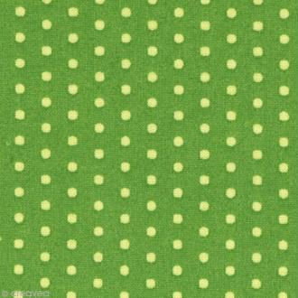 Tissu Frou Frou Jardin d'oliviers - Pois (212) - A la coupe par 10 cm (sur mesure)