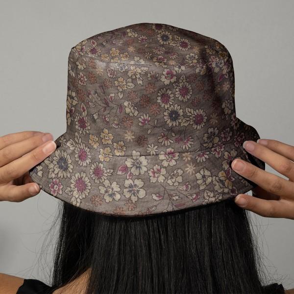 Tissu Frou Frou fleuri n°02 - A la coupe par 10 cm (sur mesure) - Photo n°2