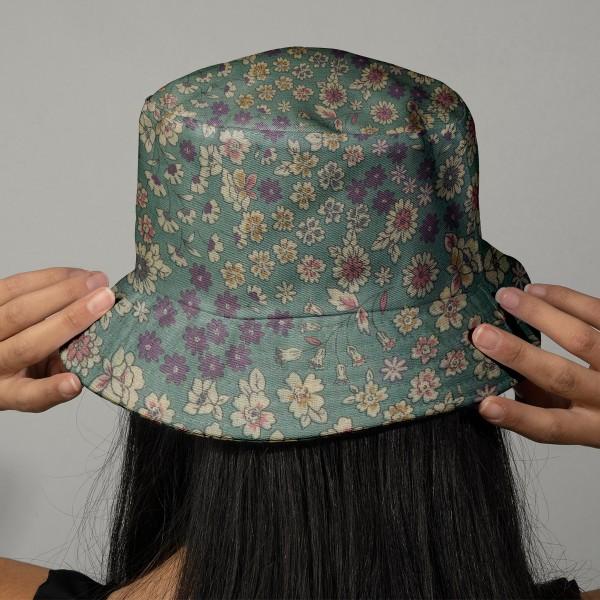 Tissu Frou Frou fleuri n°05 - A la coupe par 10 cm (sur mesure) - Photo n°2
