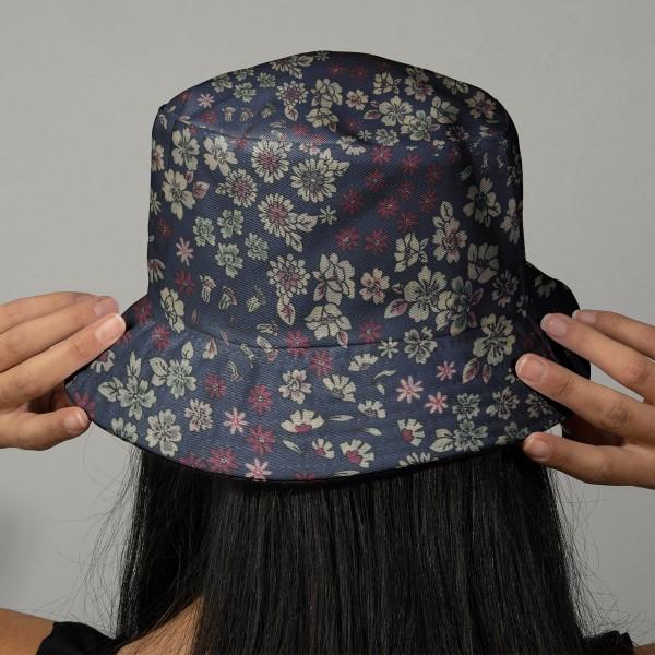 Tissu Frou Frou fleuri n°07 - A la coupe par 10 cm (sur mesure) - Photo n°2